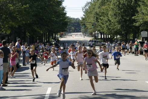 Kids Dash at the 2006 Second Empire 5K Classic